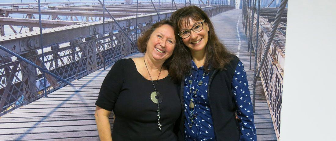 Marie-Hélène Garric et Isabelle David experte et fondatrice de l'AMO